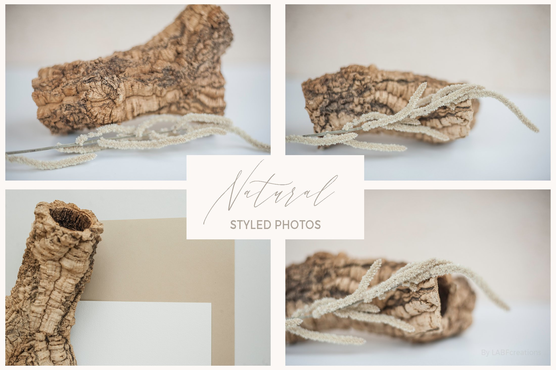 Natural. Mockup and style photos Soft and delicate nude. example image 9