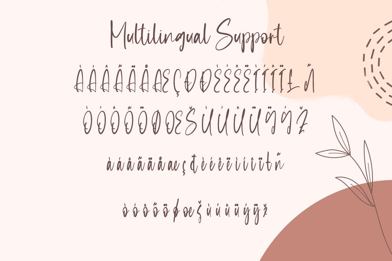 Sensation - Beautiful Calligraphy Font example image 5