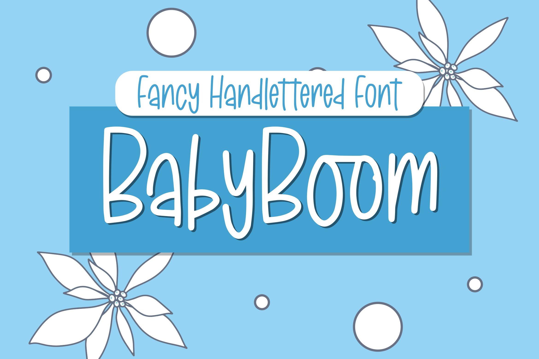 BabyBoom - Fancy Font example image 1