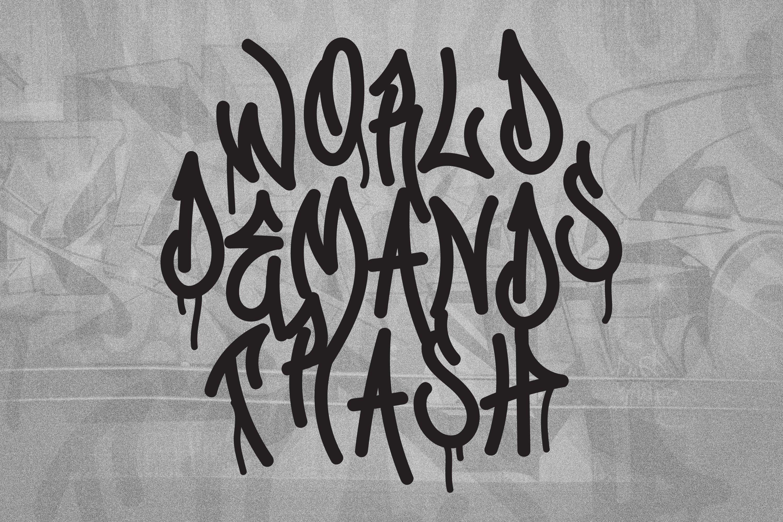 Graffiti Gang Font example image 4