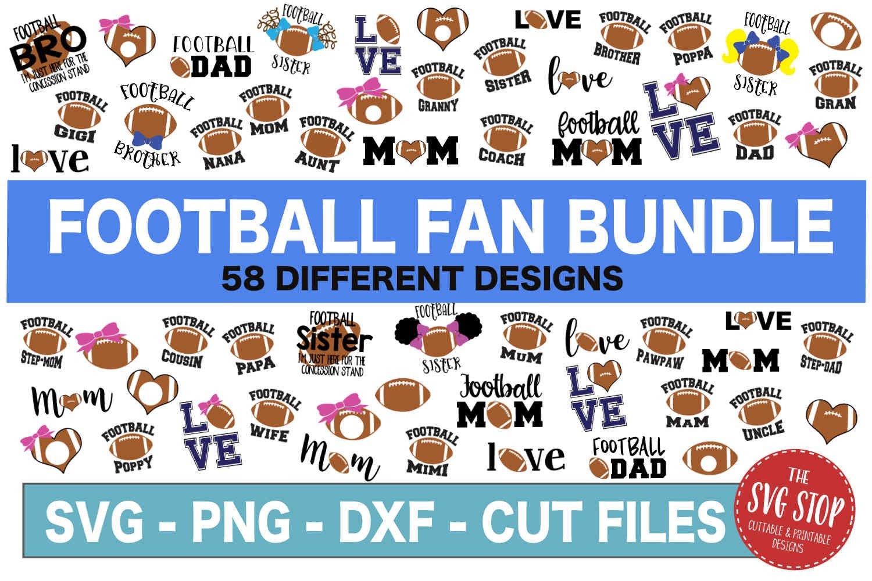 HUGE Bundle 500 SVG Designs Sports Themed example image 6