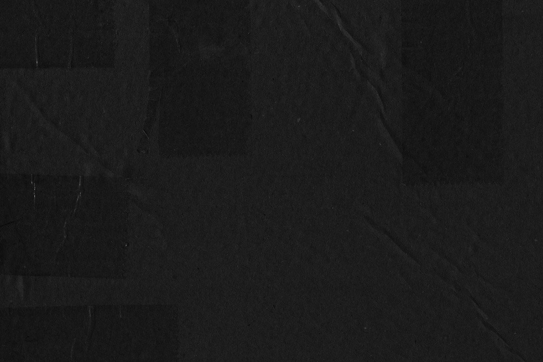 Black Cardboard Textures 2 example image 4
