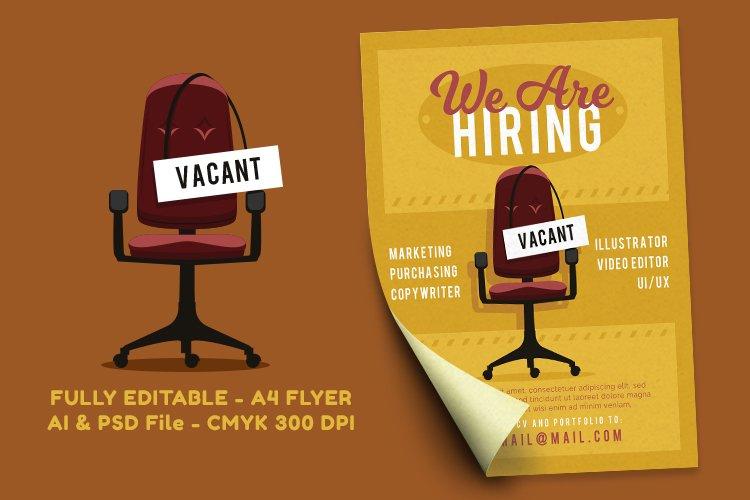 Job Vacancy Flyer 2 example image 1