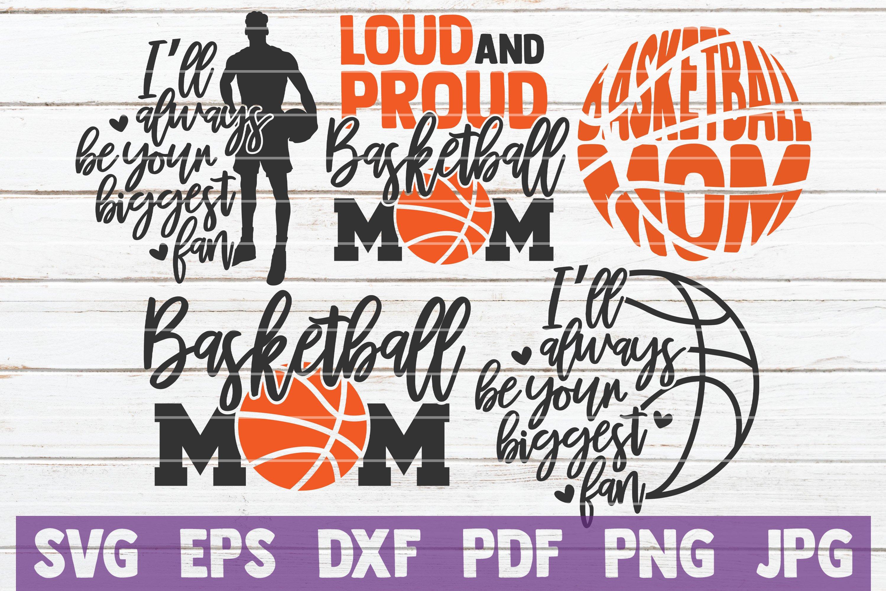 5 Basketball Mom Svg Cut Files Basketball Svg Bundle 219297 Cut Files Design Bundles