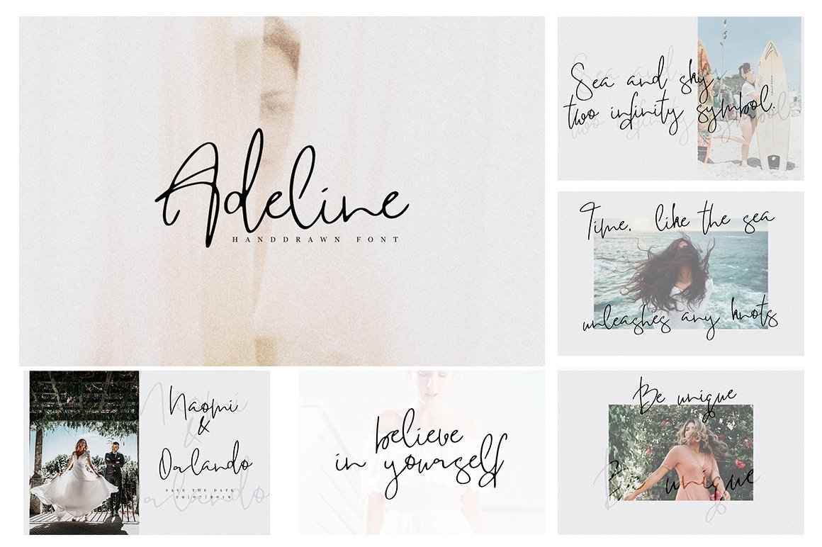 Font Bundle 70 in One example image 12