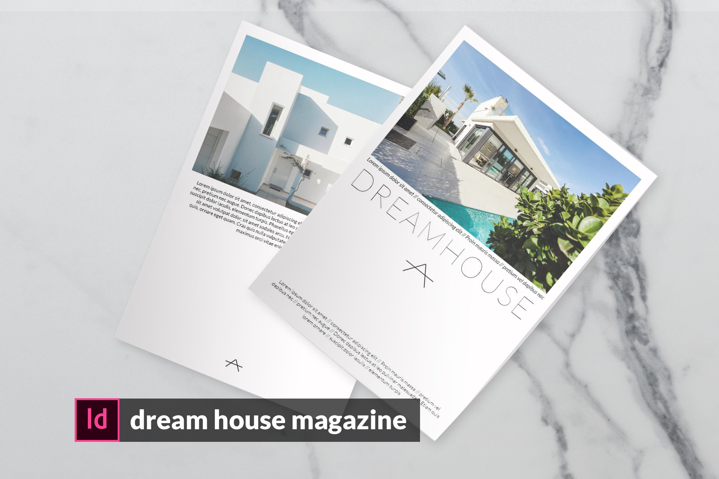 Dream House Magazine 782483 Magazines Design Bundles