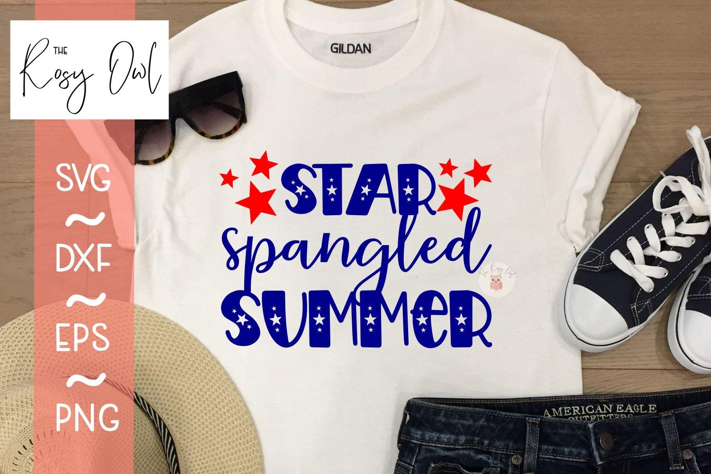 Star Spangled Summer Digital Cut File example image 2
