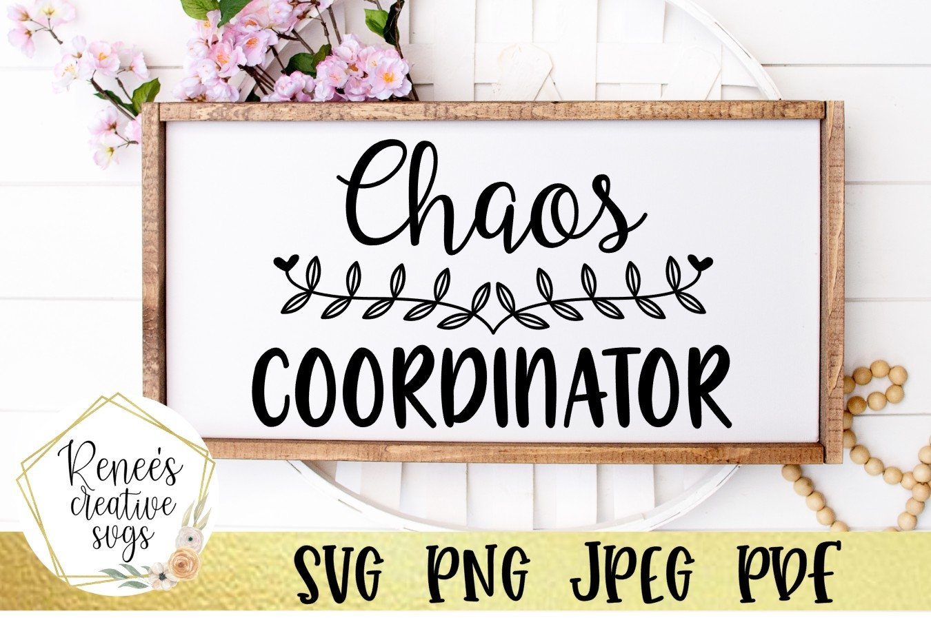 Chaos Coordinator | Humor | SVG Cutting File example image 2