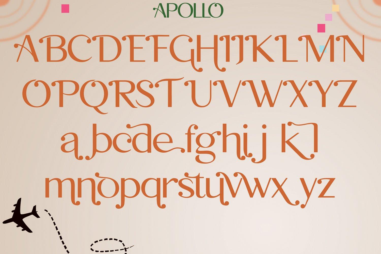 Apollo Sans Serif Font example image 5
