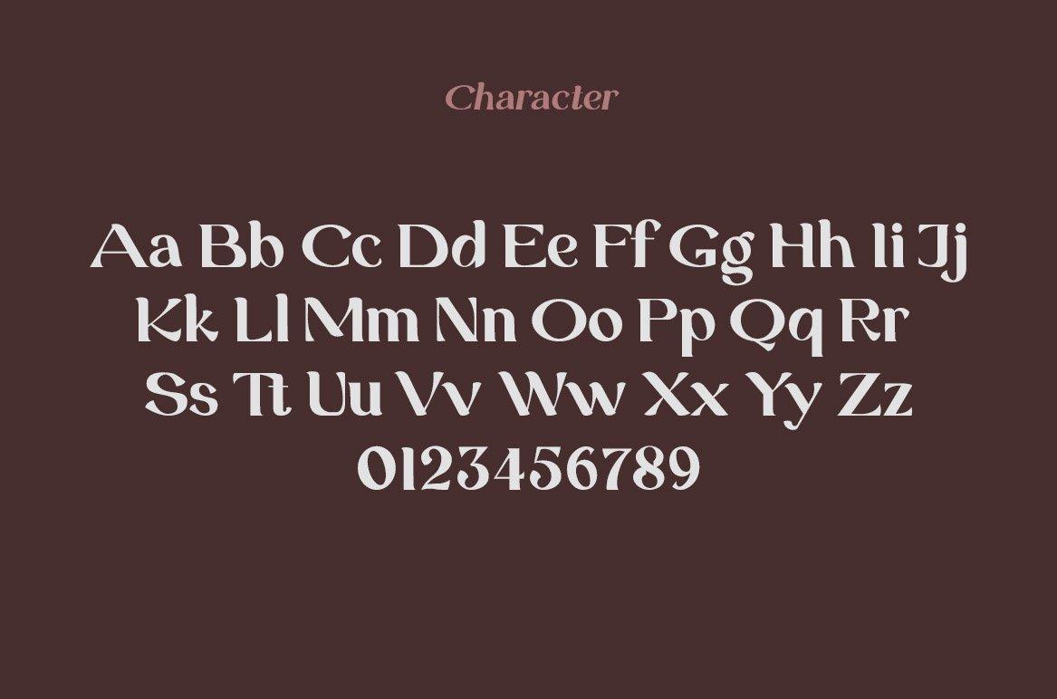 Grand Duke Beauty Serif Font example image 9