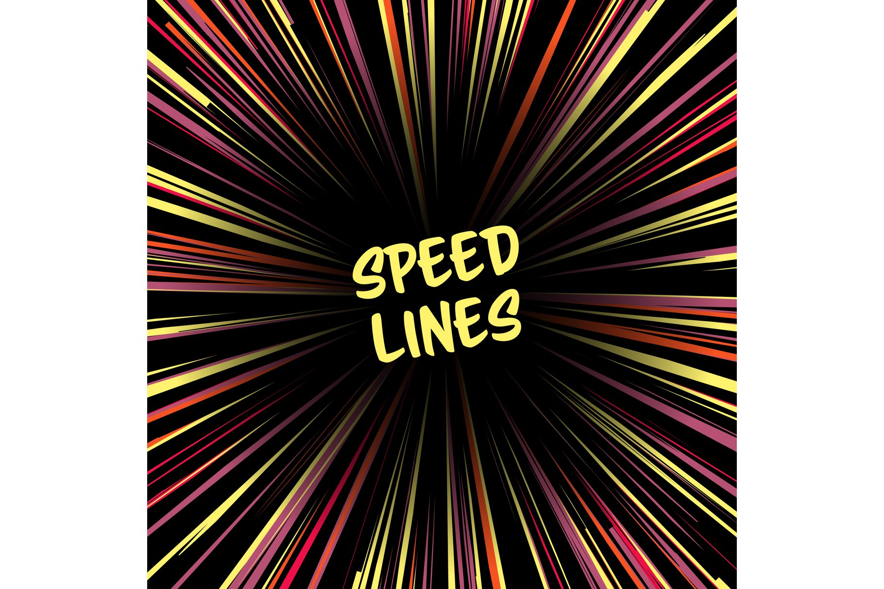 Fast speed warp vector effect. example image 1