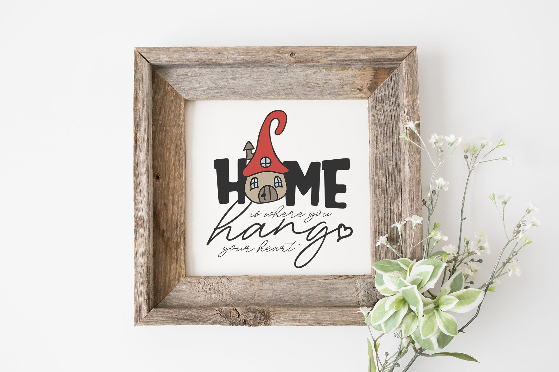 Home SVG Sign | Magic House SVG example image 2