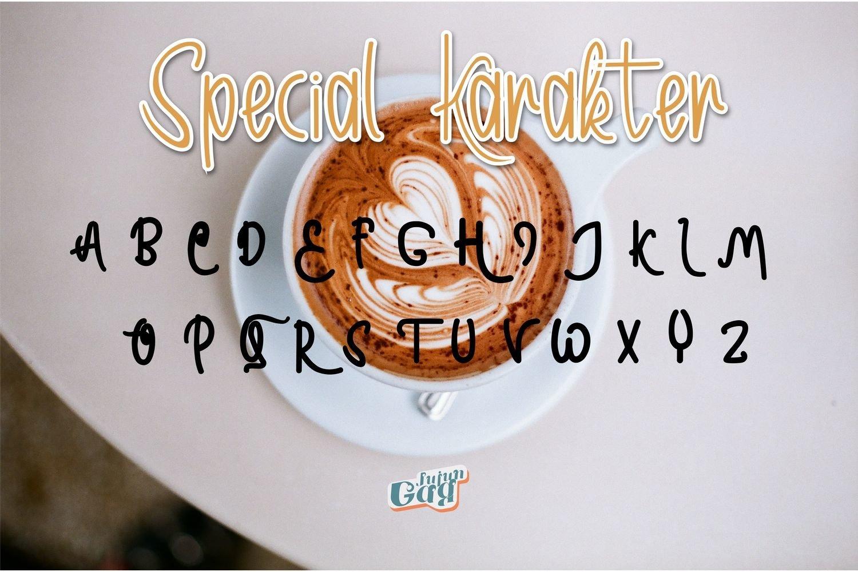 Sweet Romantic Typeface example image 5