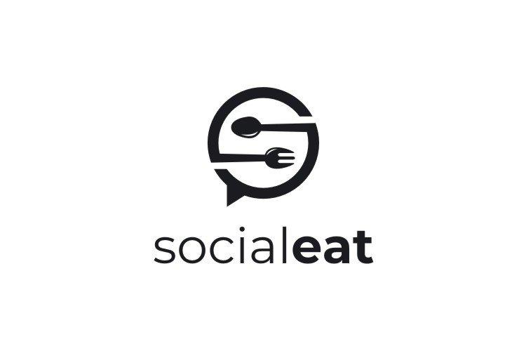 Social Eat - S Logo example image 3
