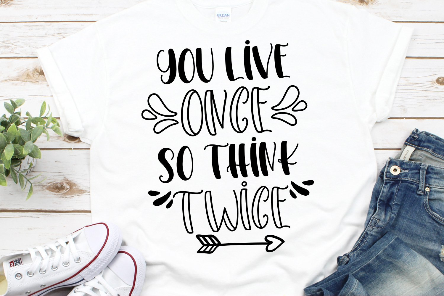 Think Twice - A font duo with doodles example image 4