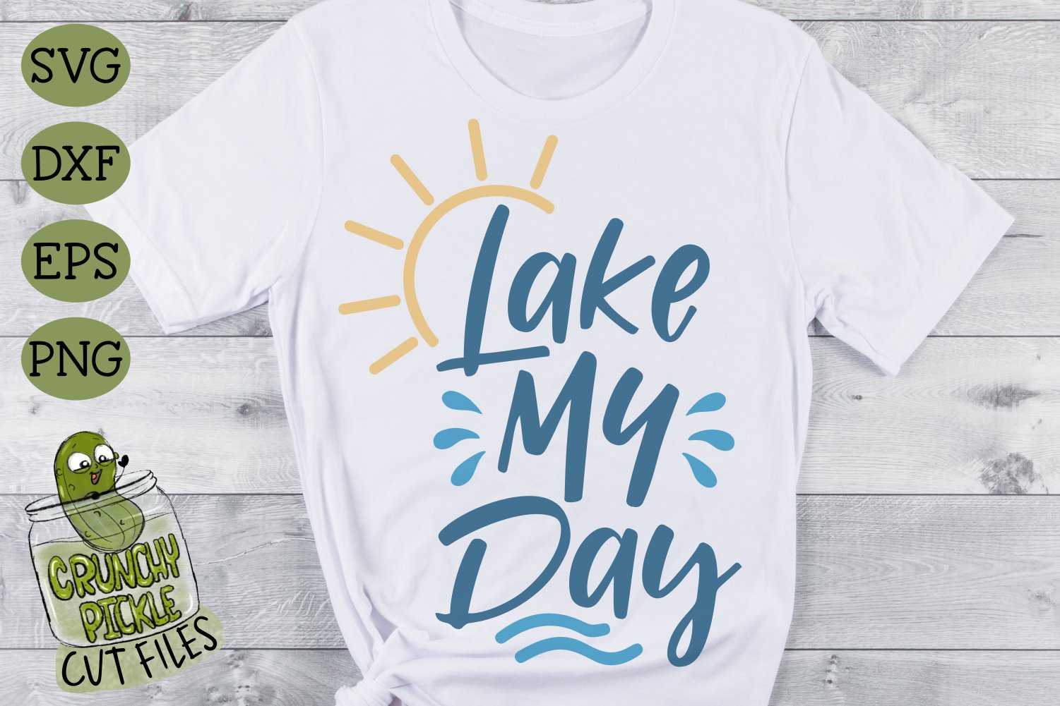 Lake My Day SVG Cut File example image 3