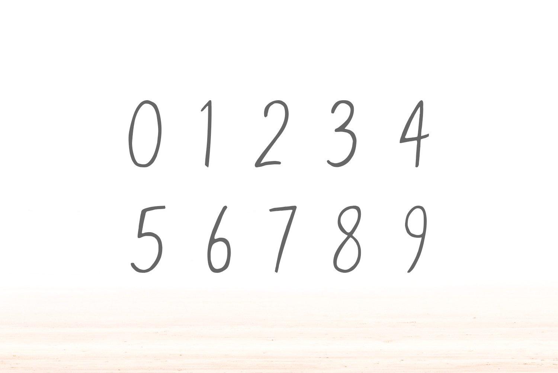 Eadfrith Handwirtten Sans Serif Font example image 3