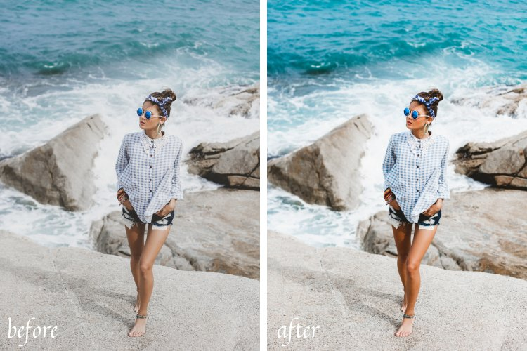 Ocean Life Mobile & Desktop Lightroom Presets example image 10