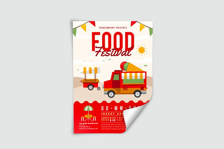 FOOD TRUCK FESTIVAL FLYER 3 example image 3