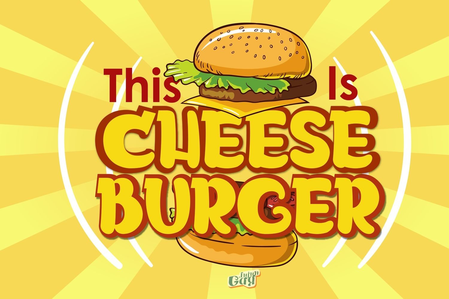 Cheese Burger example image 1