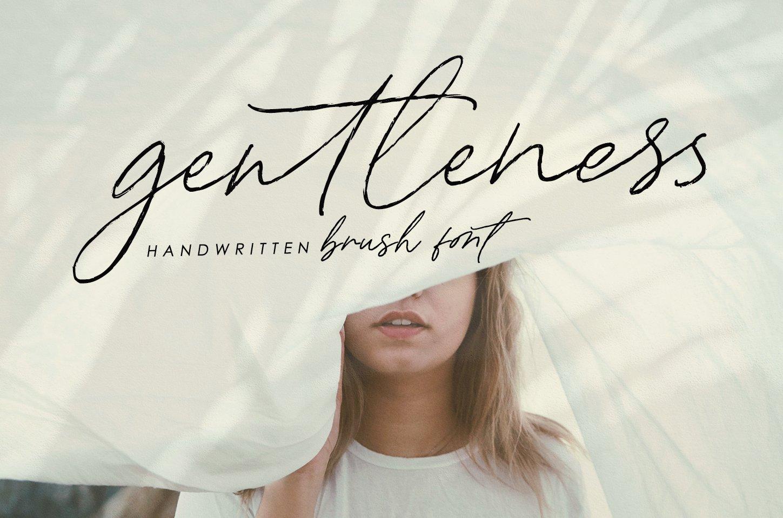 Josephine - handwritten brush font example image 2