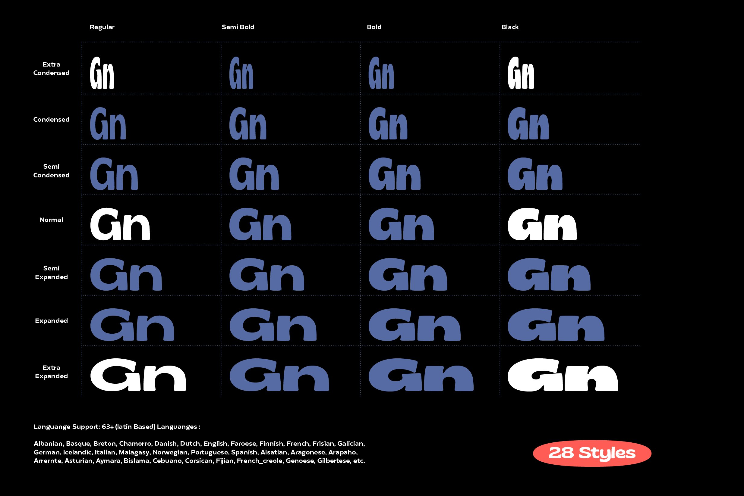 Gliker Font Family example image 7