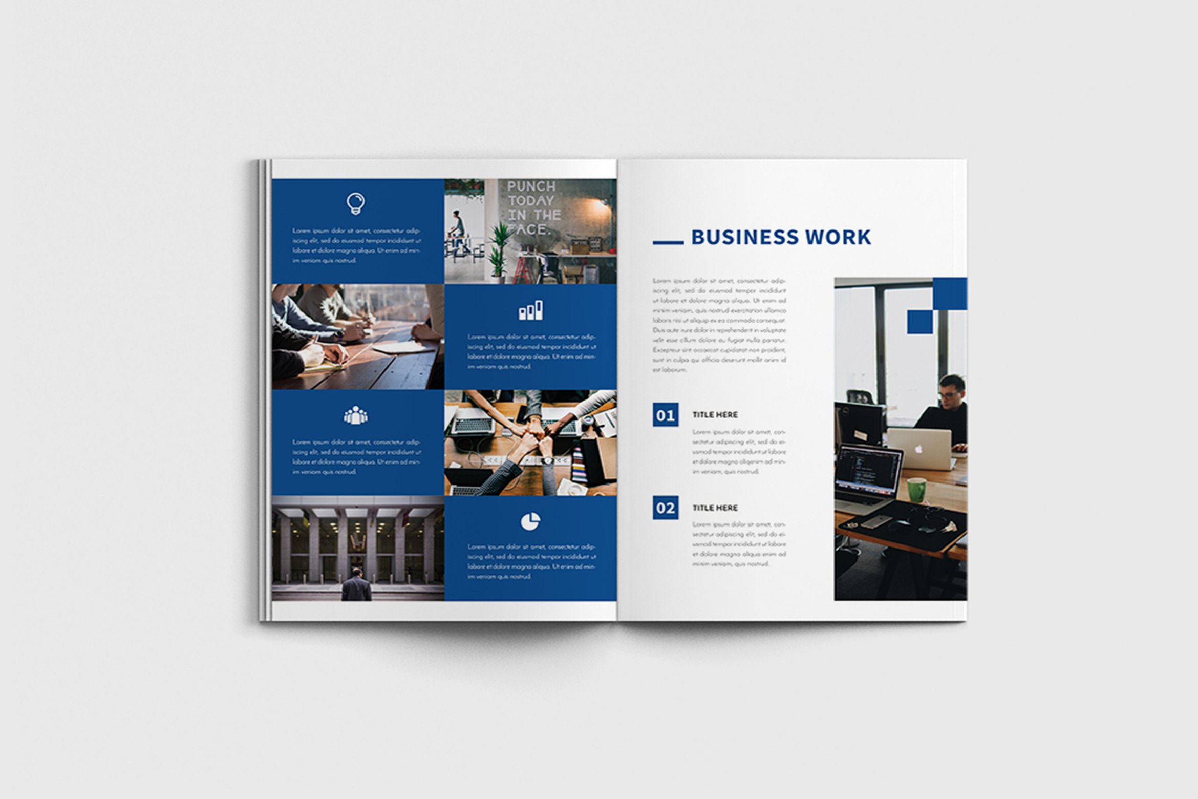Walkers - A4 Business Brochure Template example image 9