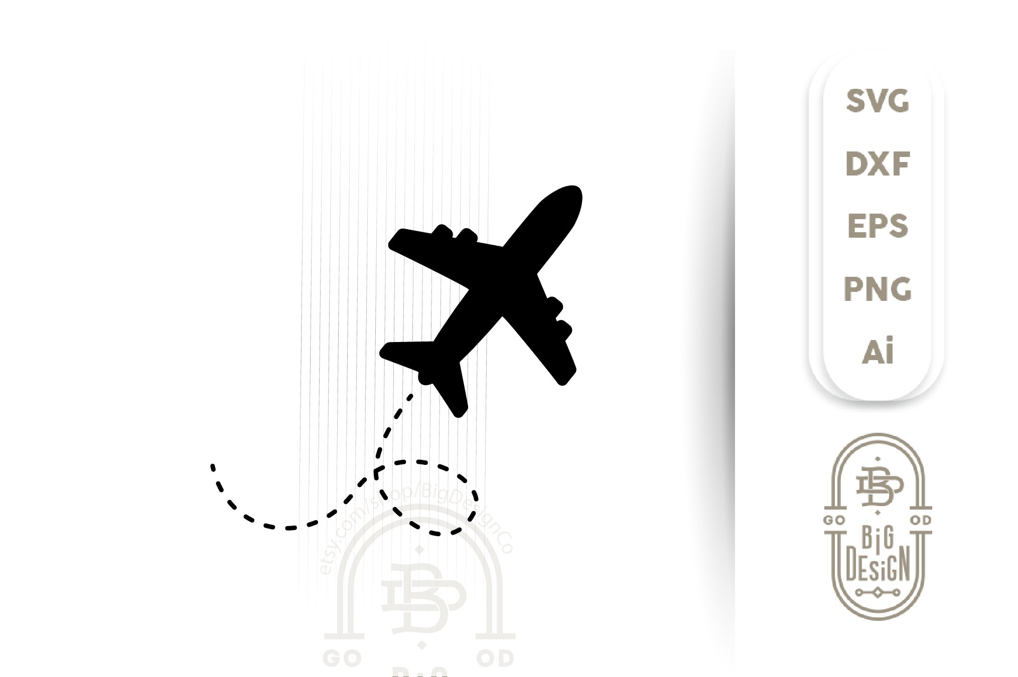 Airplane Silhouette Svg File Travel Svg Cut File 520707 Svgs