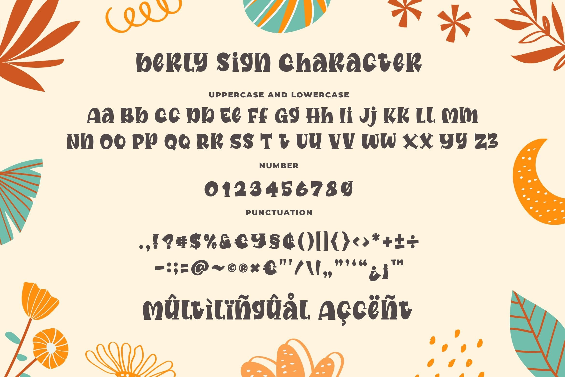 Berly Sign - a Cute Serif Font example image 8