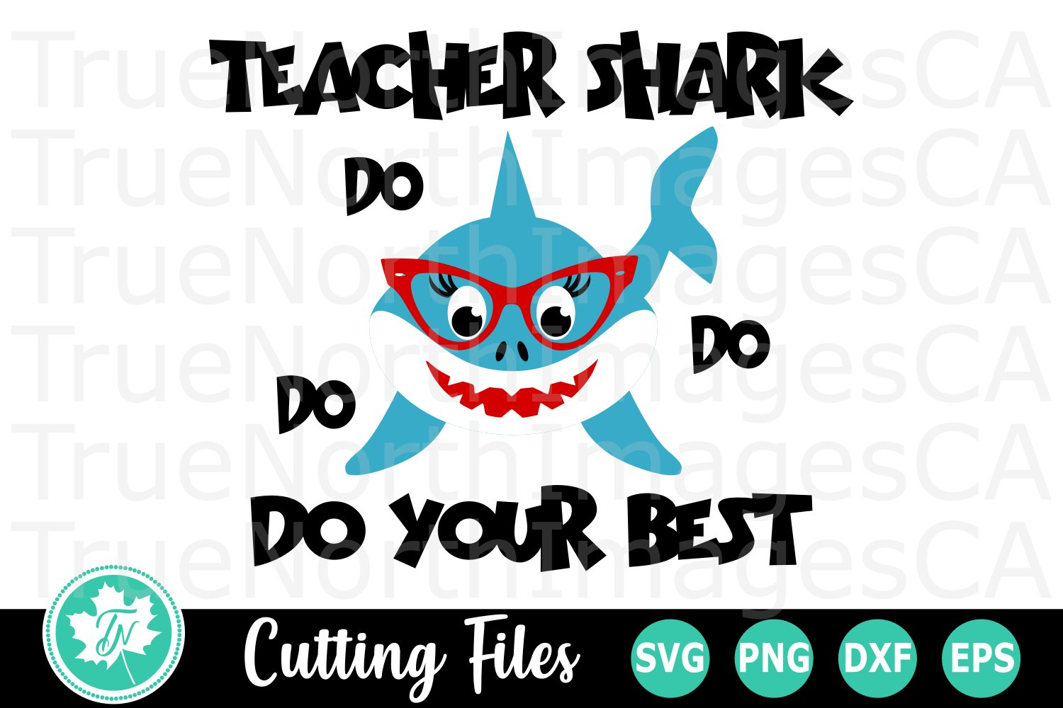 Teacher Shark A School Svg Cut File 301845 Cut Files Design Bundles