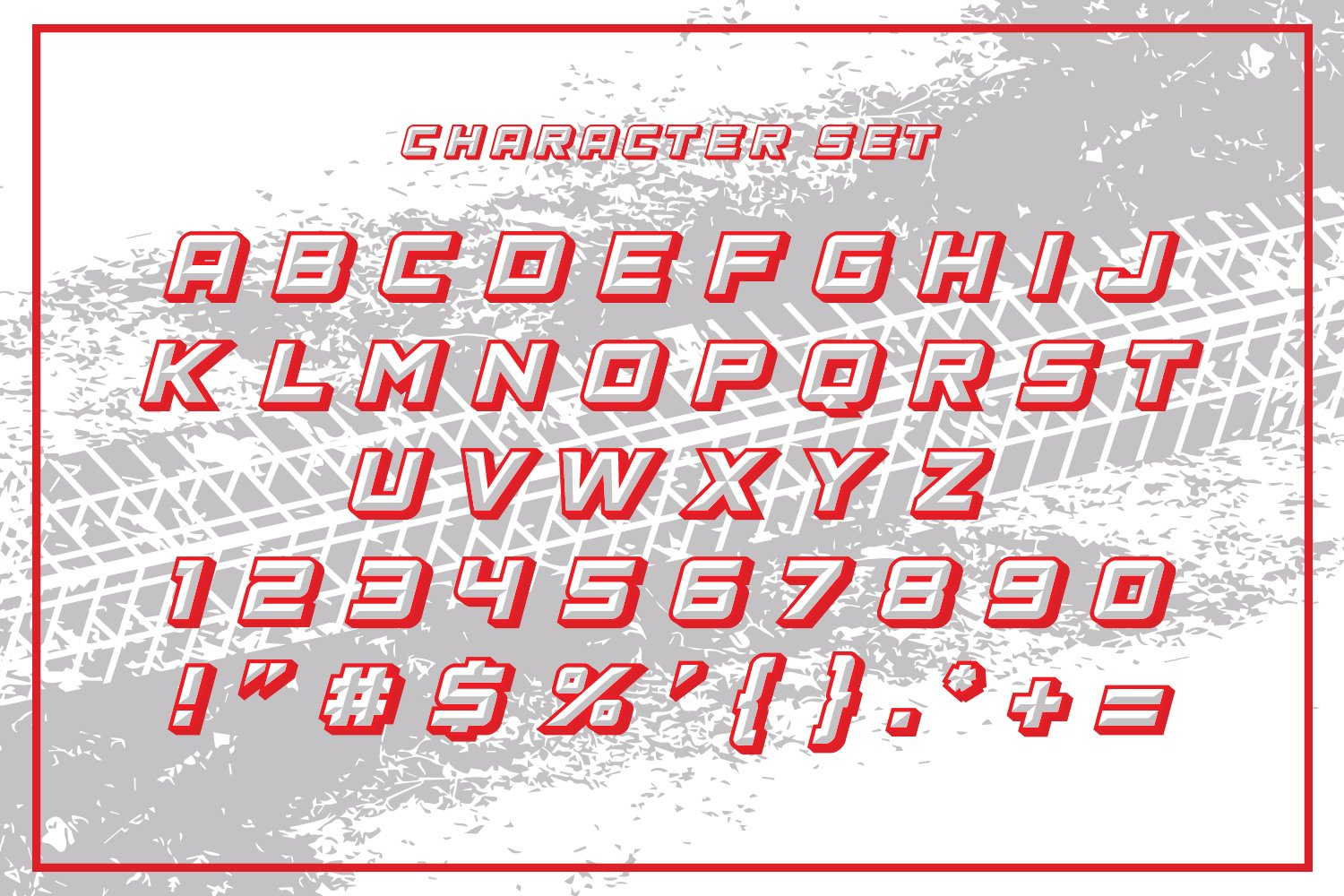 The Racing Star - SVG Font example image 5