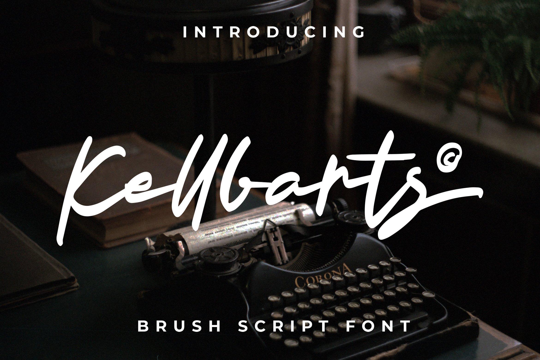 Kellbarts - Script Fonts example image 1