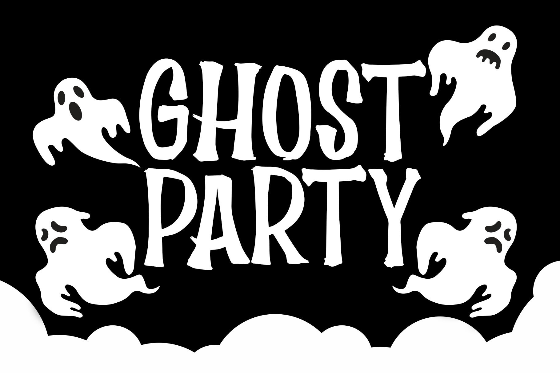 Scary House - Spooky Font example image 3