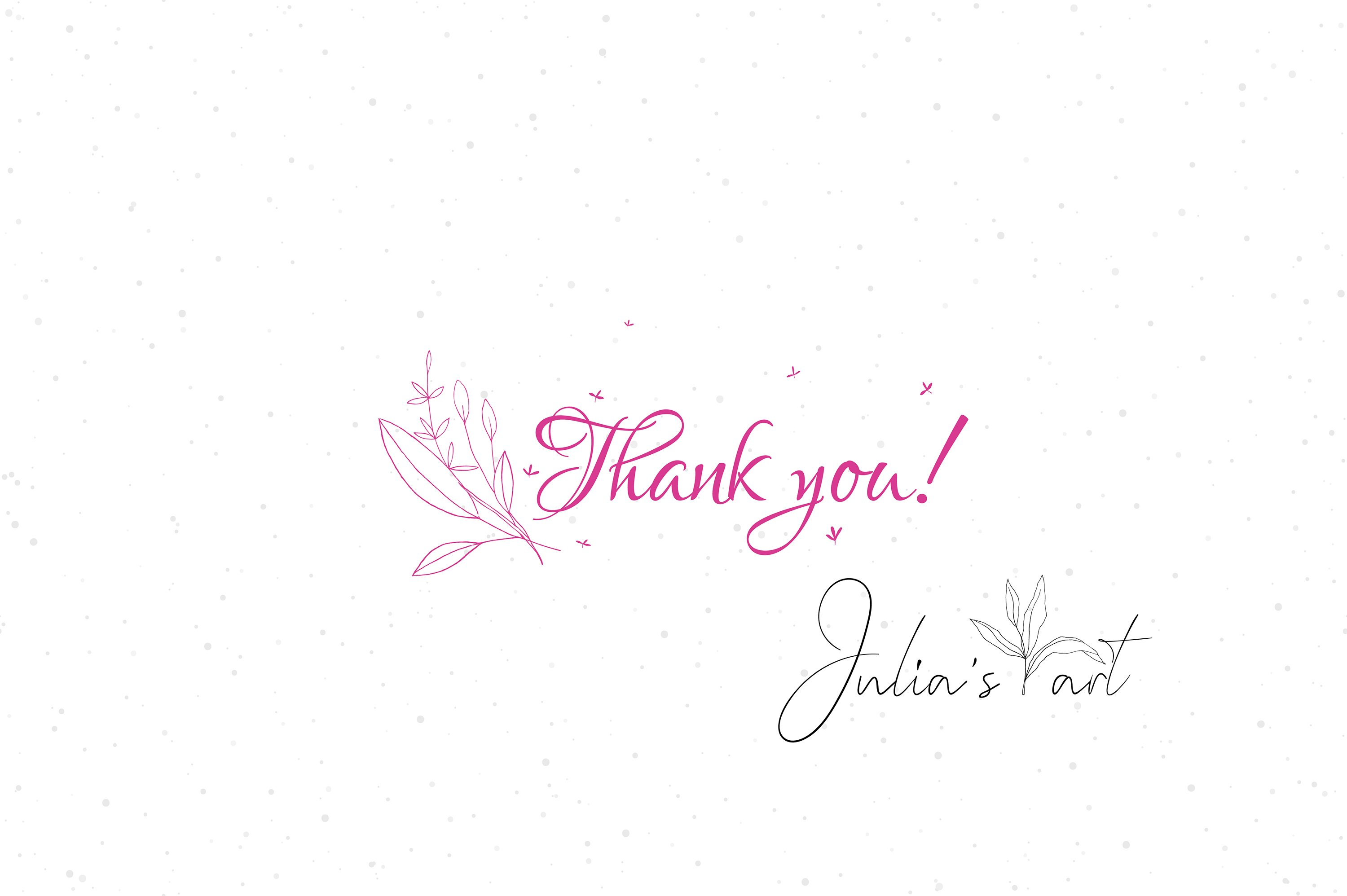 Pink flowers vector patterns - Ai, EPS, JPG, PNG example image 4