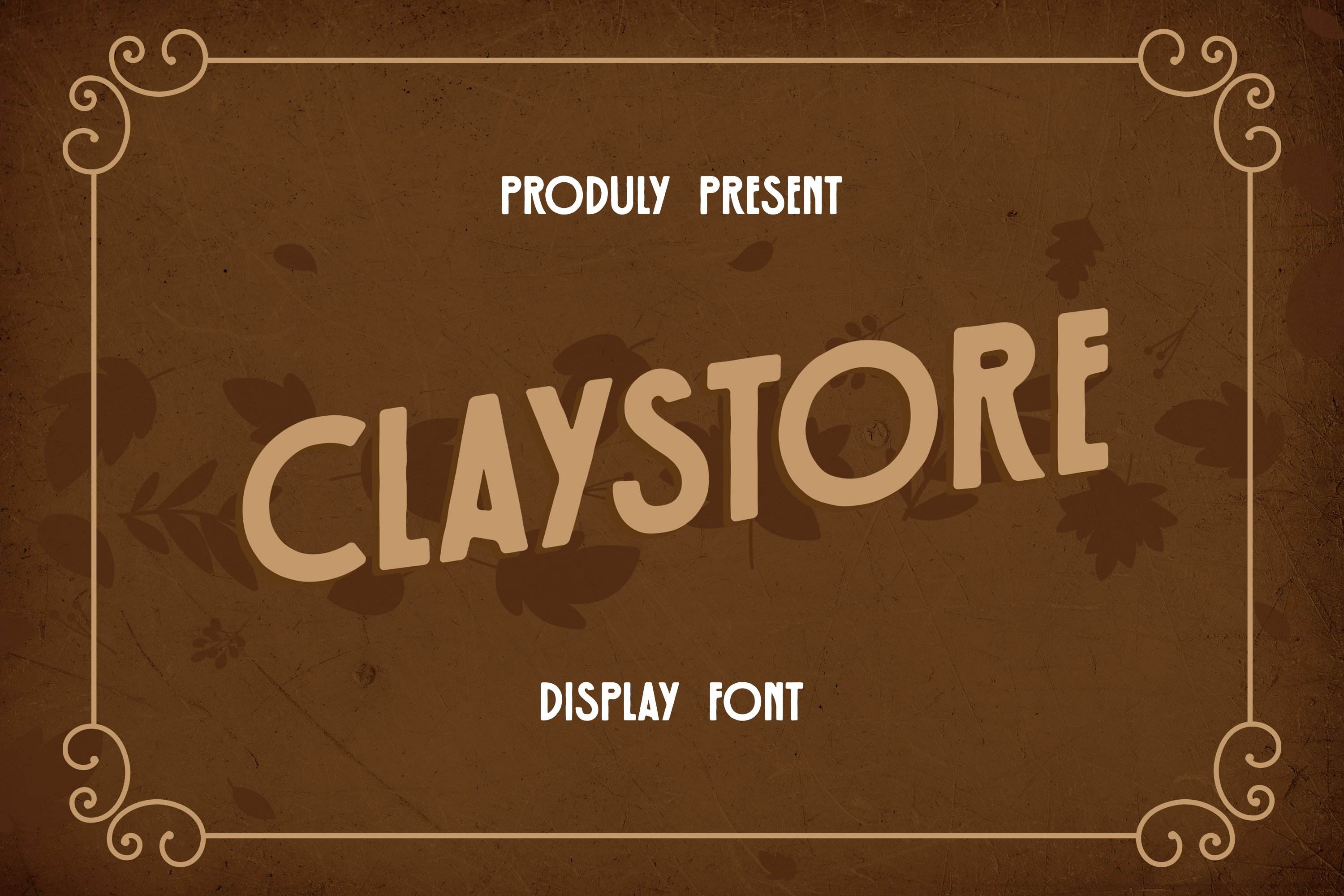 Claystore Font example image 1