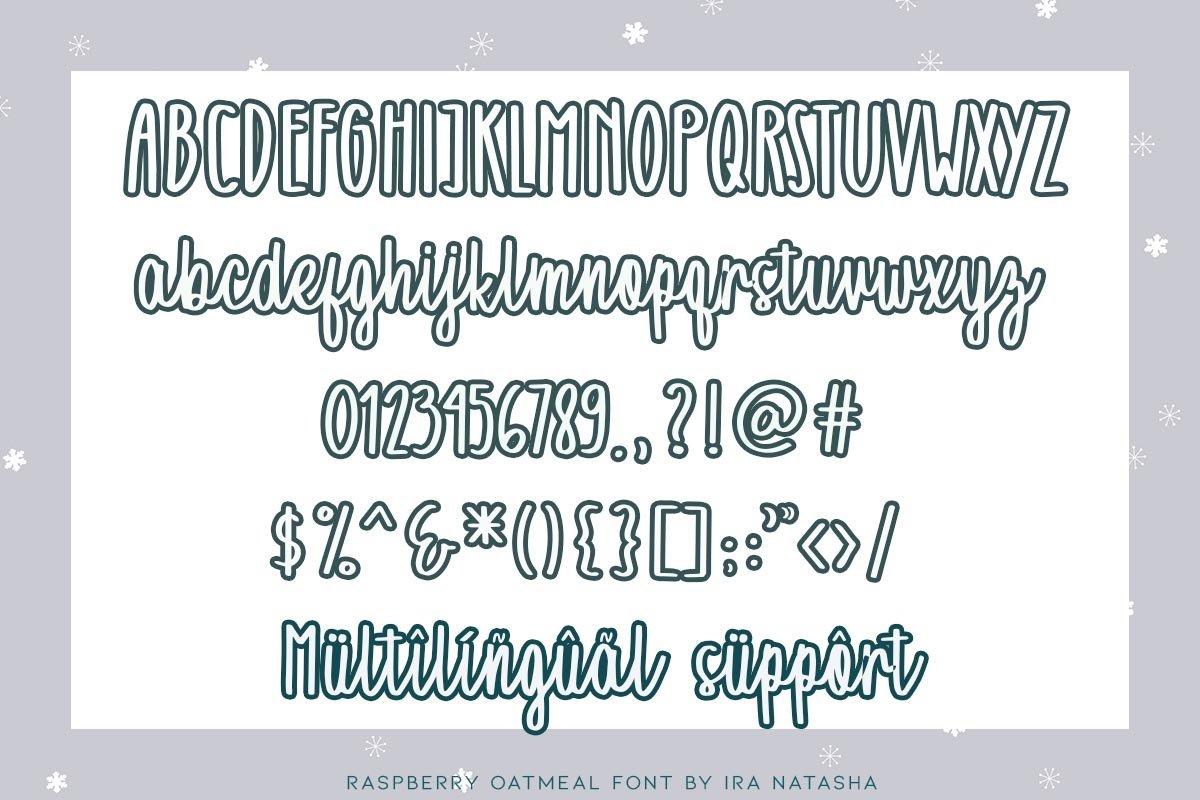 Raspberry Oatmeal example image 2