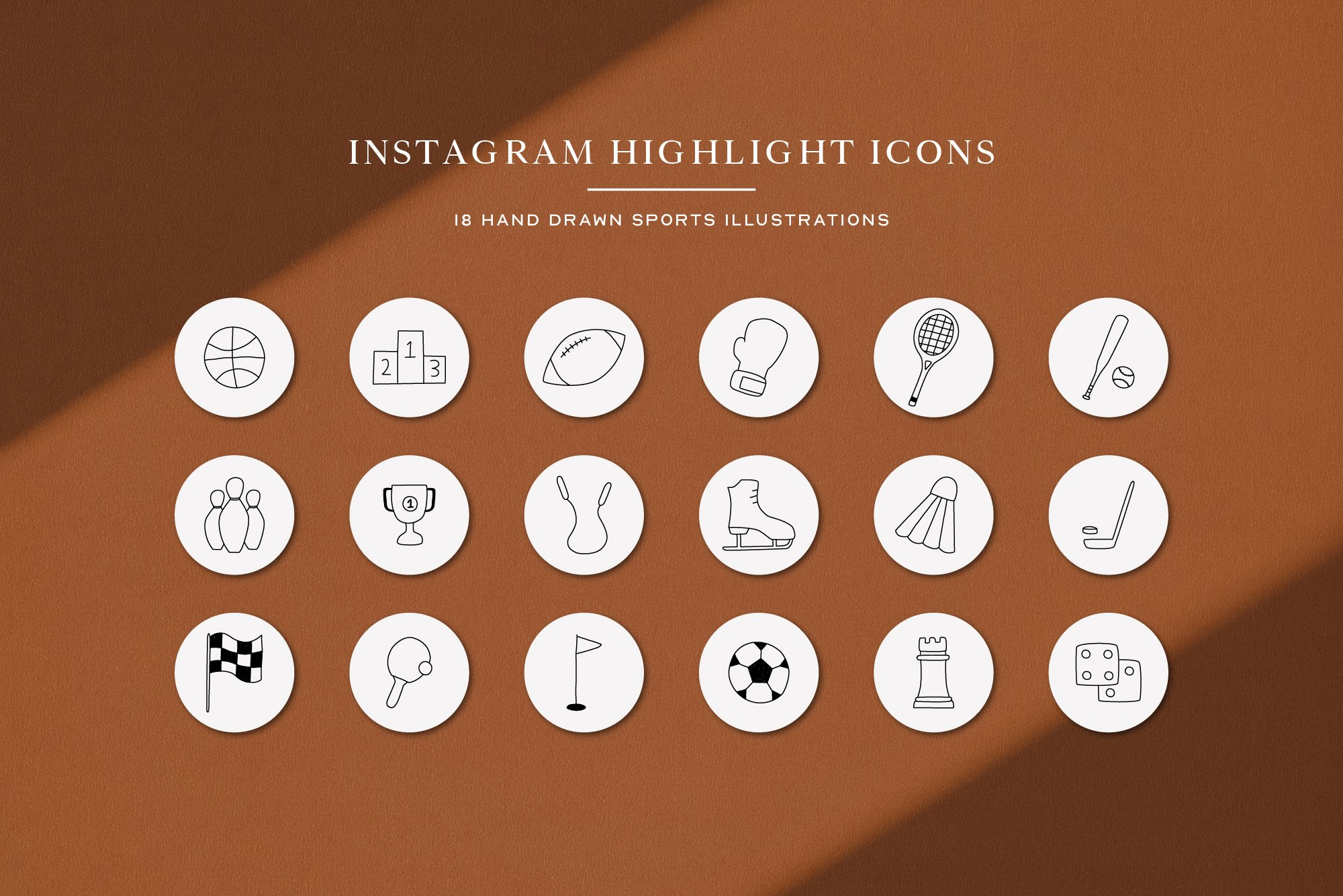 Instagram Sport Highlights Icons | Instagram Story Cover example image 2