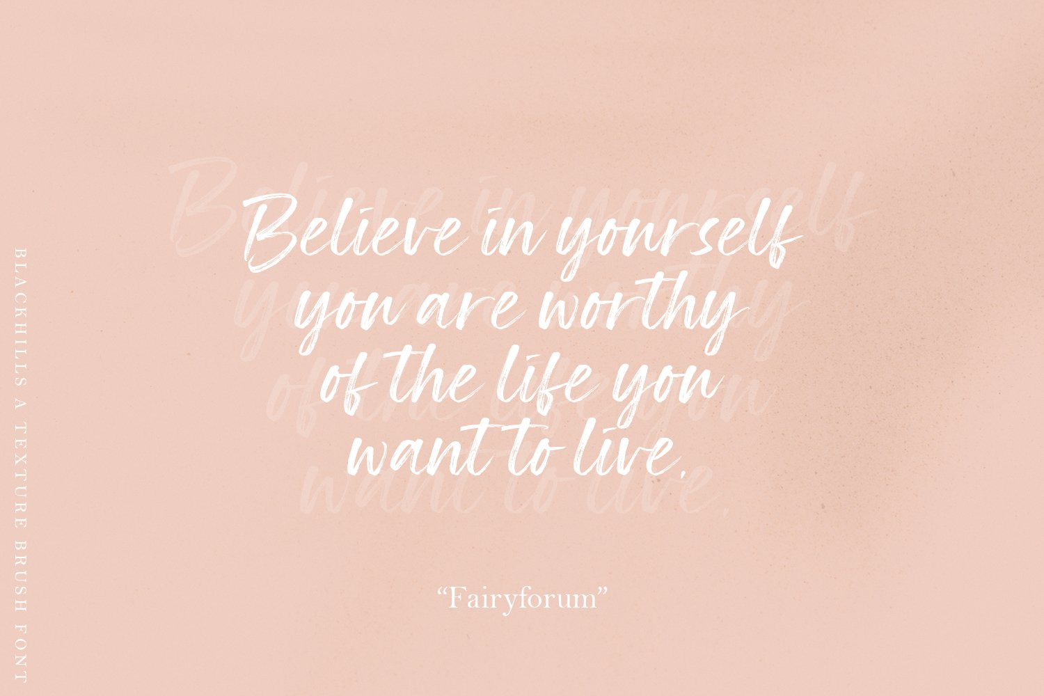 Blackhills - Brush Fonts example image 16