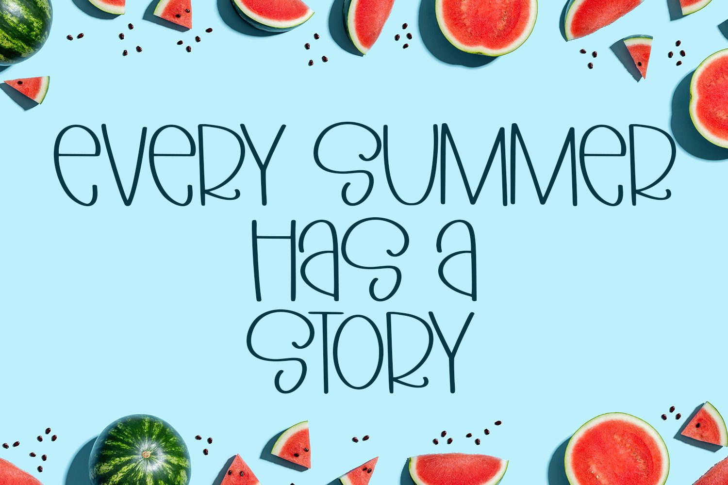 Fresh Fruits - A Quirky Hand-Lettered Font example image 2