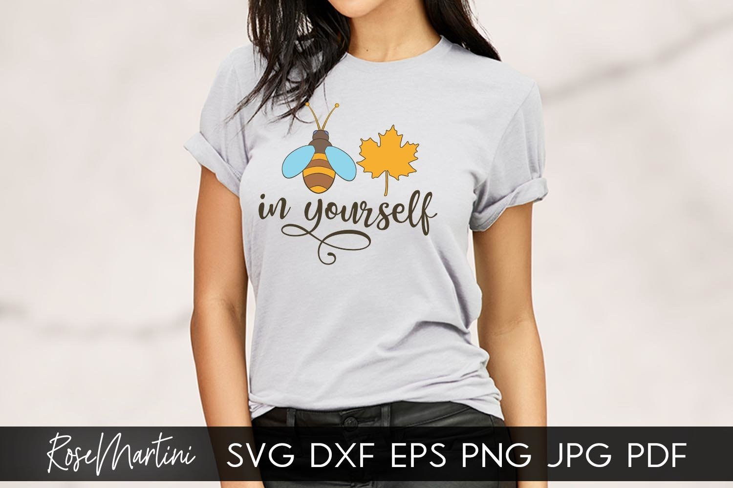 Believe in Yourself SVG Queen Bee SVG Bee Pun Bumble Bee SVG example image 3