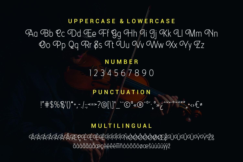 Arbiolé - Modern Sans Serif Font example image 5