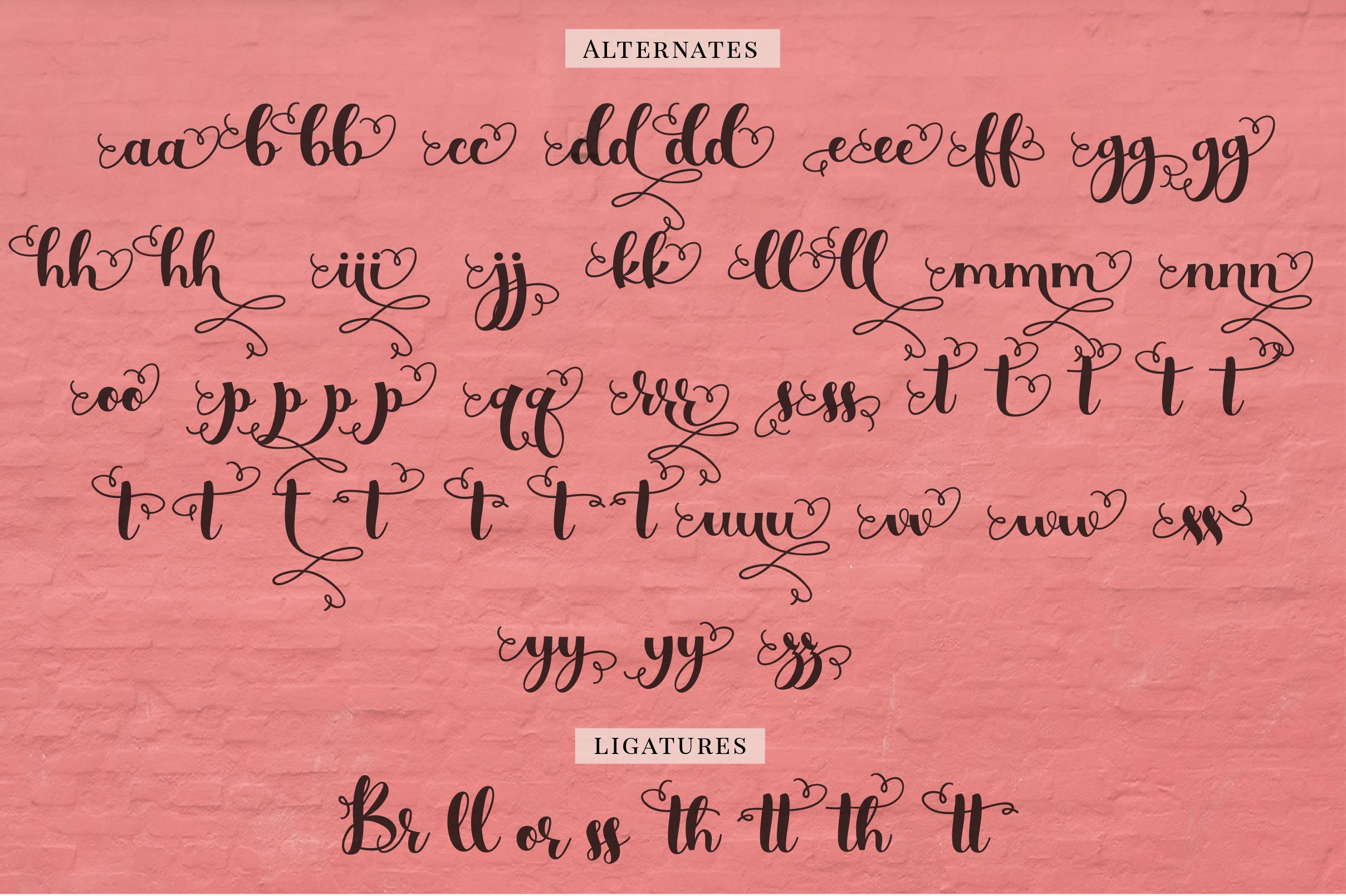 Handwritten Font Bundle for Crafters example image 11