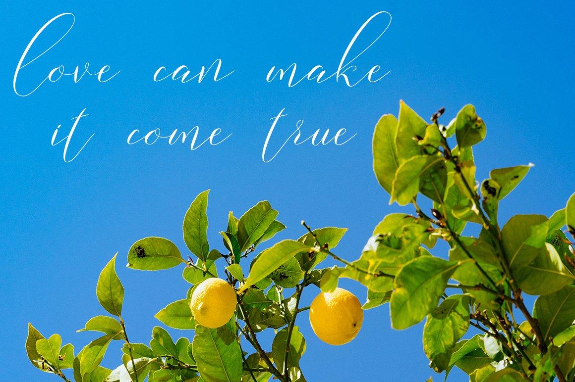 Lemonade Modern Calligraphy example image 5