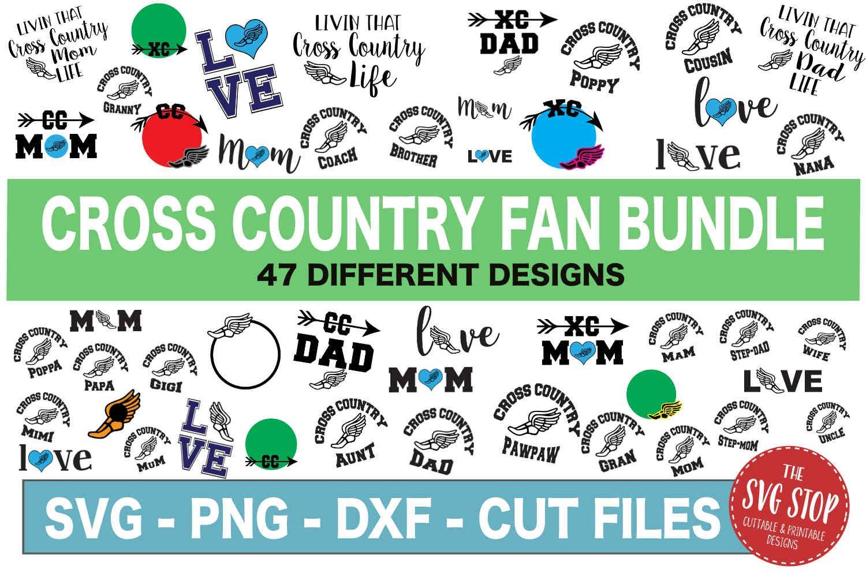 HUGE Bundle 500 SVG Designs Sports Themed example image 8