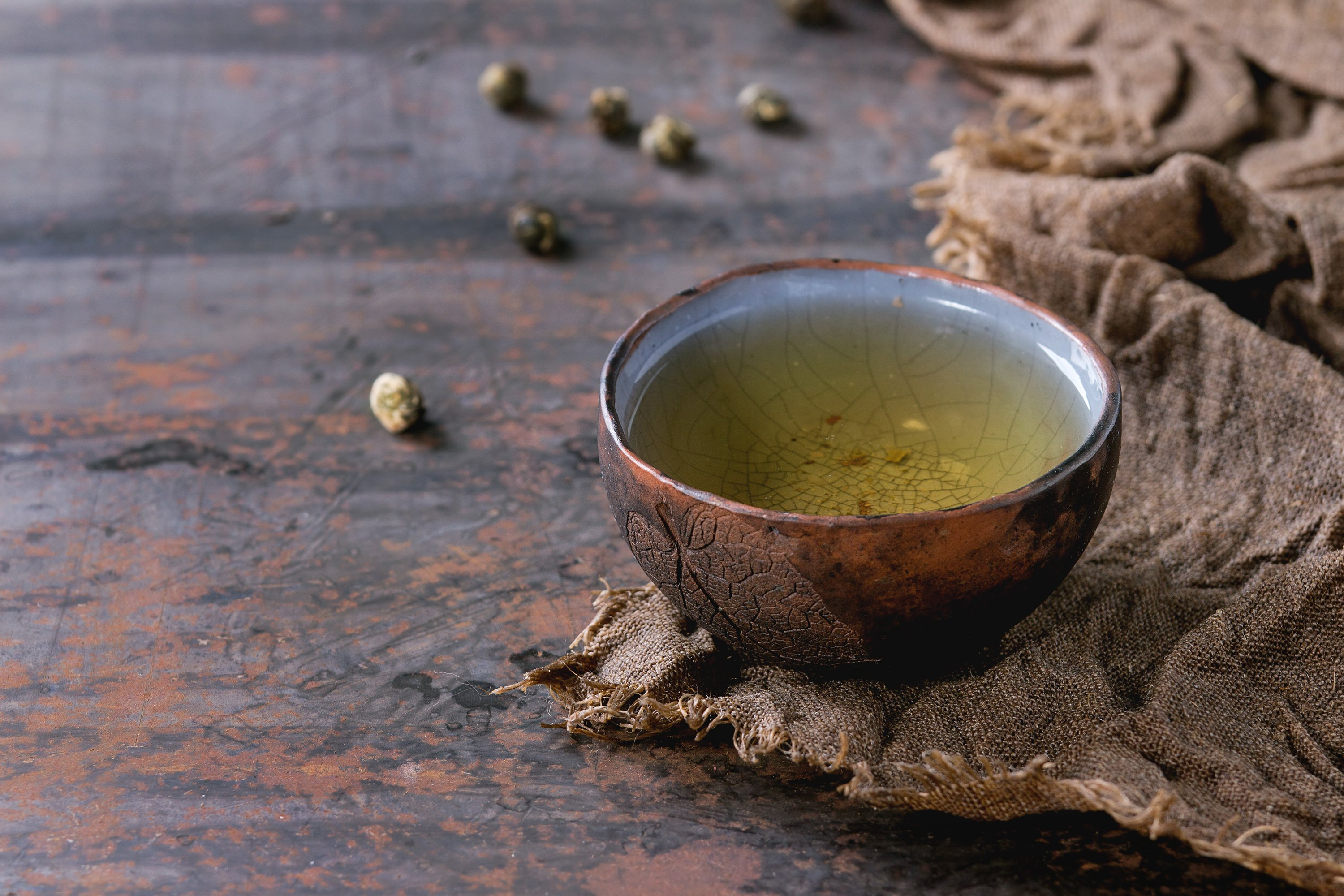 Cup of green tea example image 1