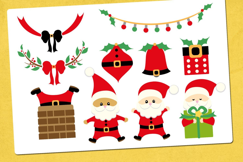 Christmas Santa Illustrations example image 2