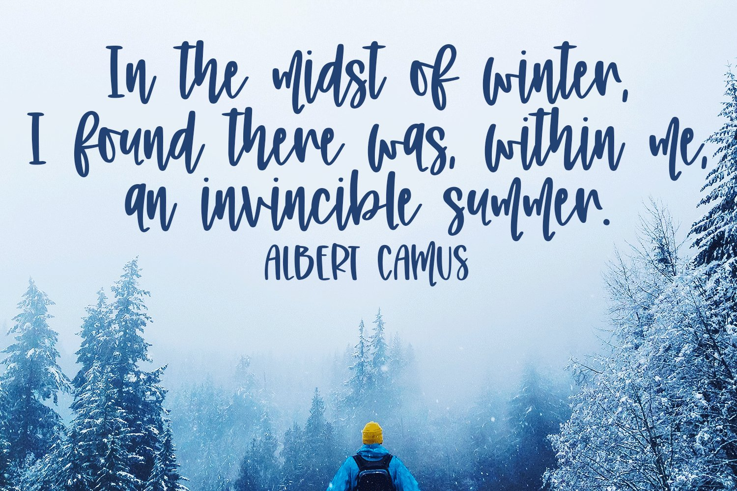 Winter Farmhouse - A Hand-Written Font Pair example image 3