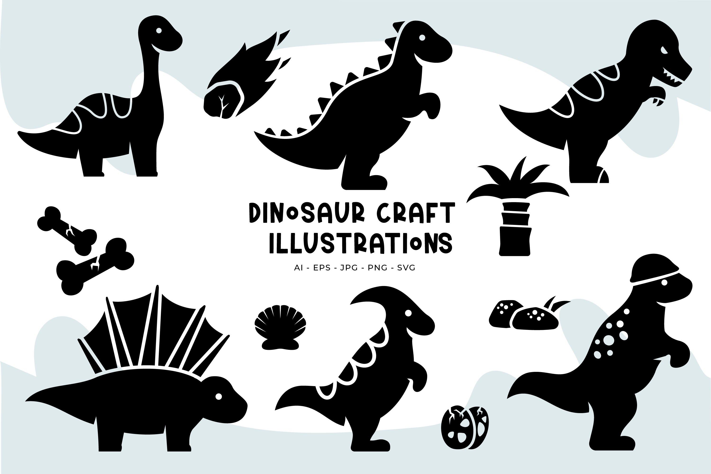 Dinosaur Illustrations example image 1