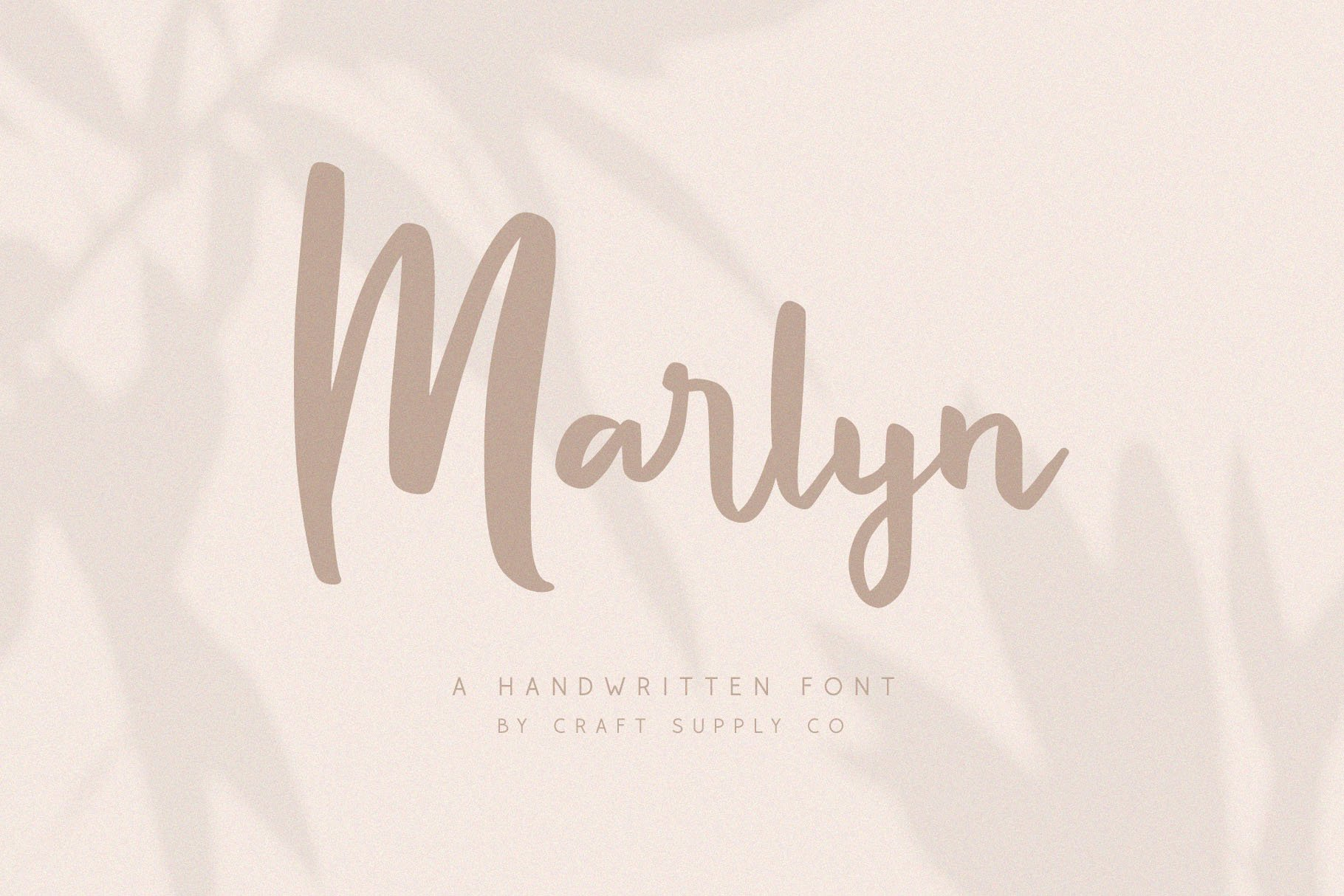 Marlyn - Handwritten Script Font example image 1