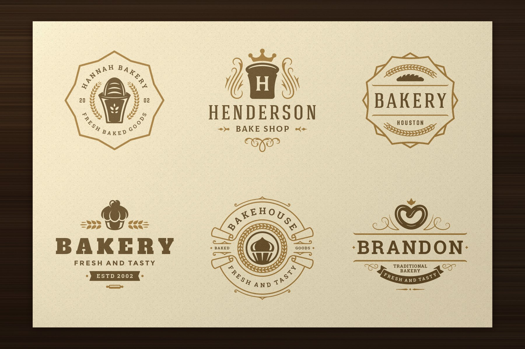 Bakery Logos and Badges example image 4